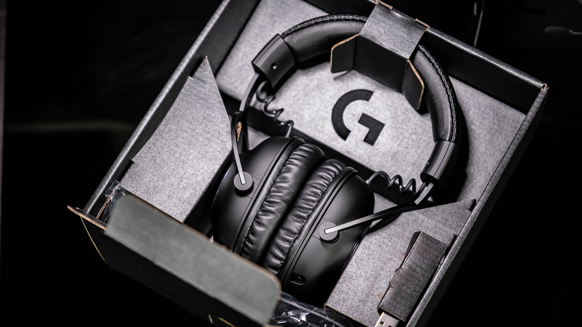 Logitech Pro X Wireless Gaming-Headset Verpackung