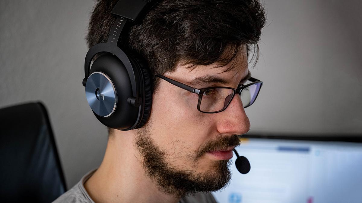 Logitech Pro X Wireless Gaming-Headset Tragekomfort