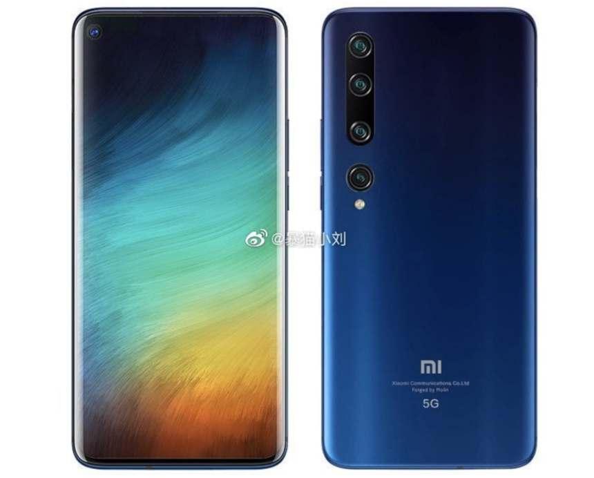 Xiaomi MI 10 Pro Design
