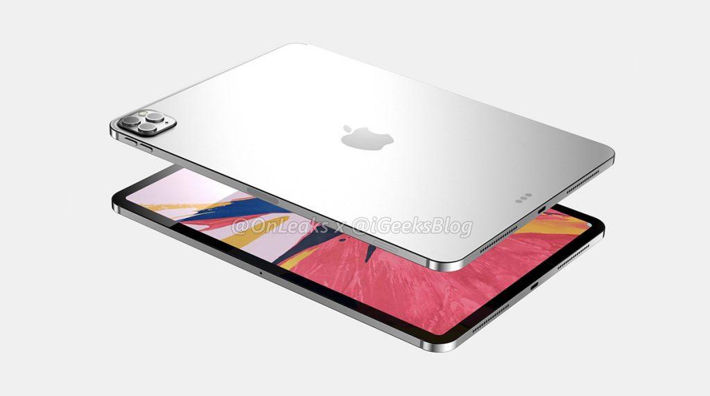 Apple iPad Pro 2020: Triple-Kamera und Tastatur mit Trackpad?