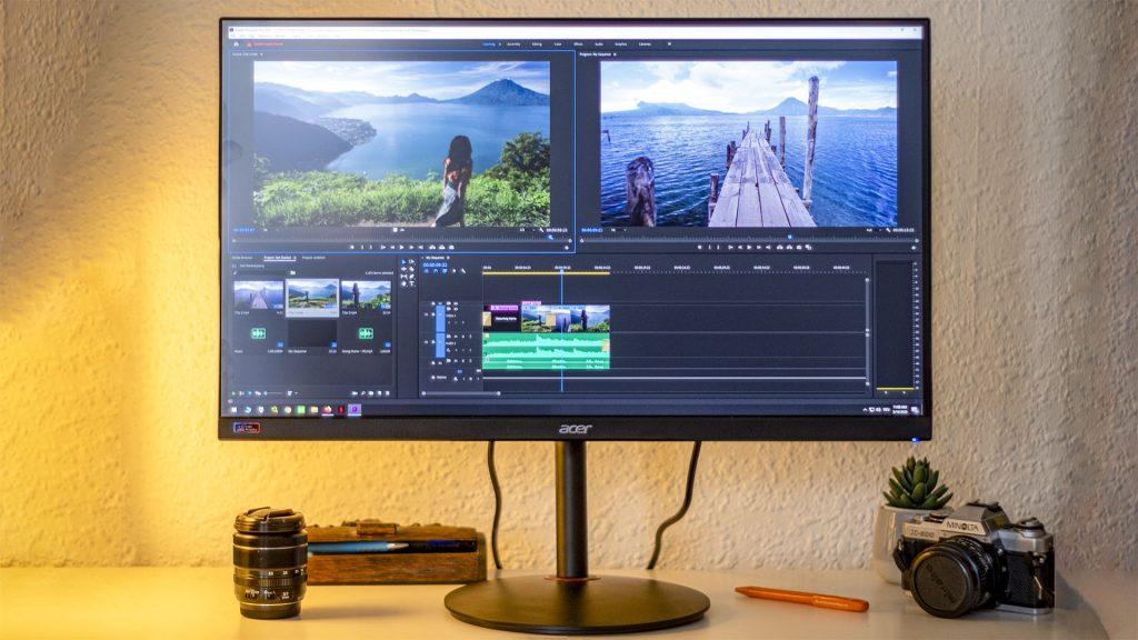 Acer Nitro XV272UP – Gaming und Bildbearbeitung auf einem Monitor?