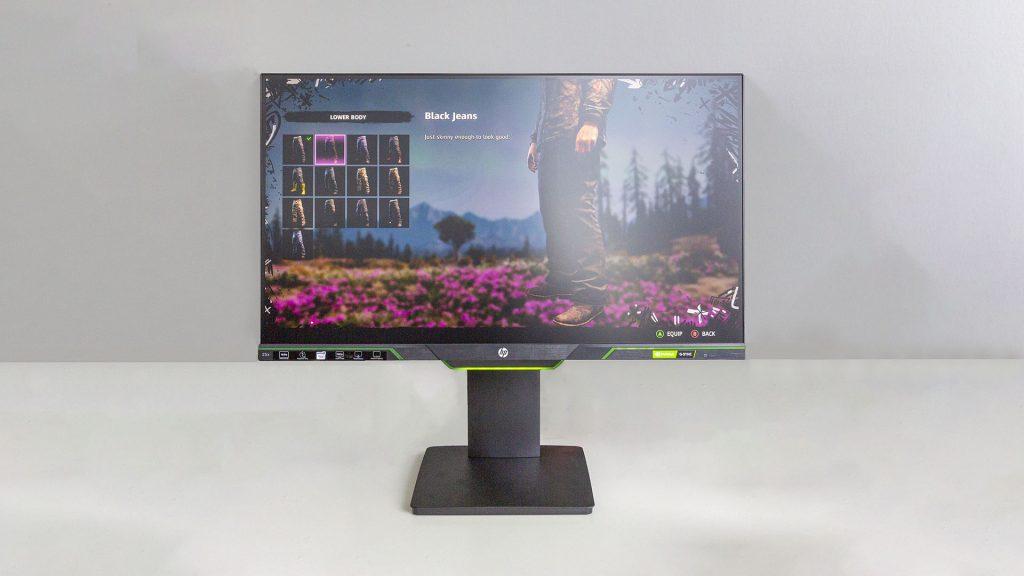 HP 25x – Preiswerter Gaming-Monitor mit eingebauter Lichtshow