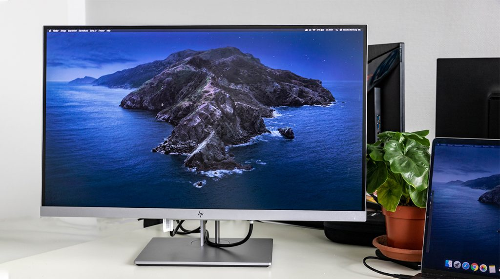 HP EliteDisplay E273q im Test: Top Business-Monitor