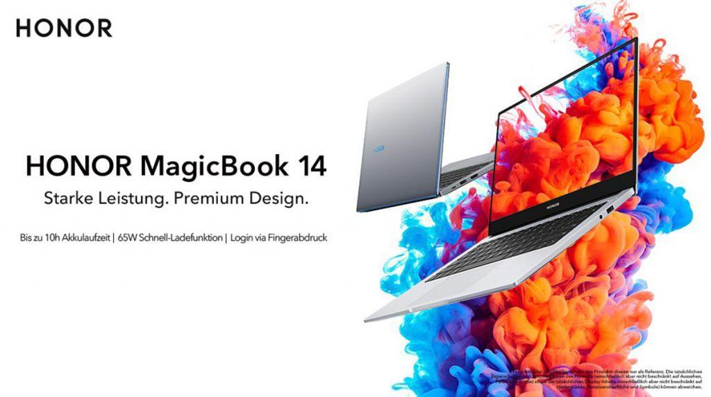 Honor MagicBook 14 ab 21. März exklusiv bei uns im Shop