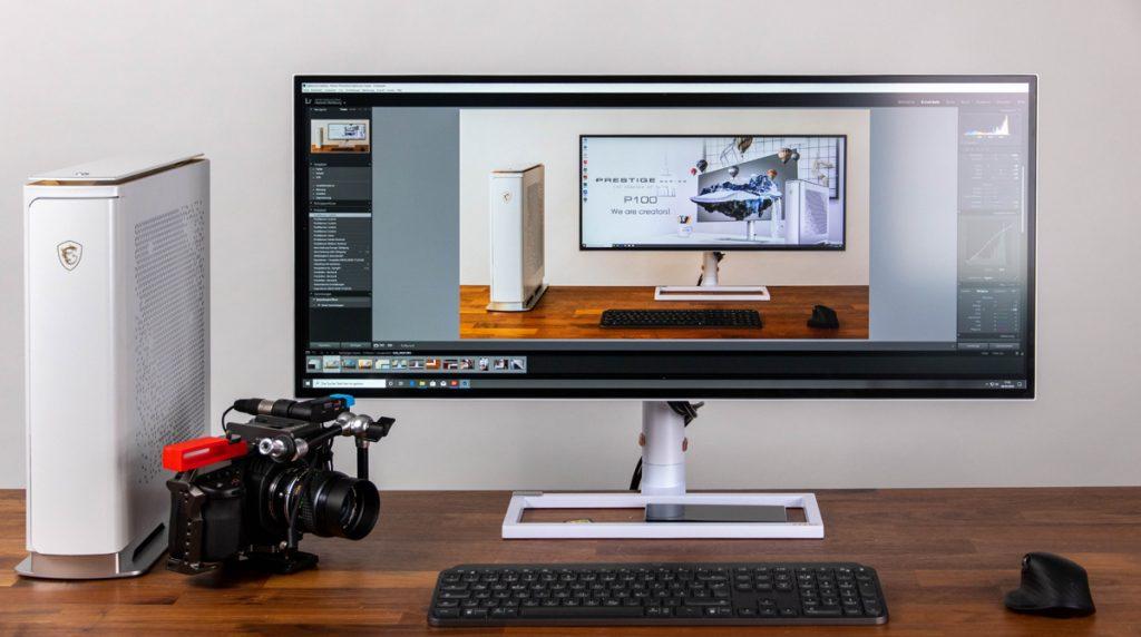MSI PS341WU: Monitor mit 5k2k-Auflösung im Test
