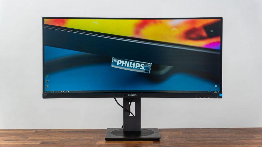 Philips 345B1C – Erschwinglicher 34 Zoll-Monitor mit Business-Understatement und 100Hz