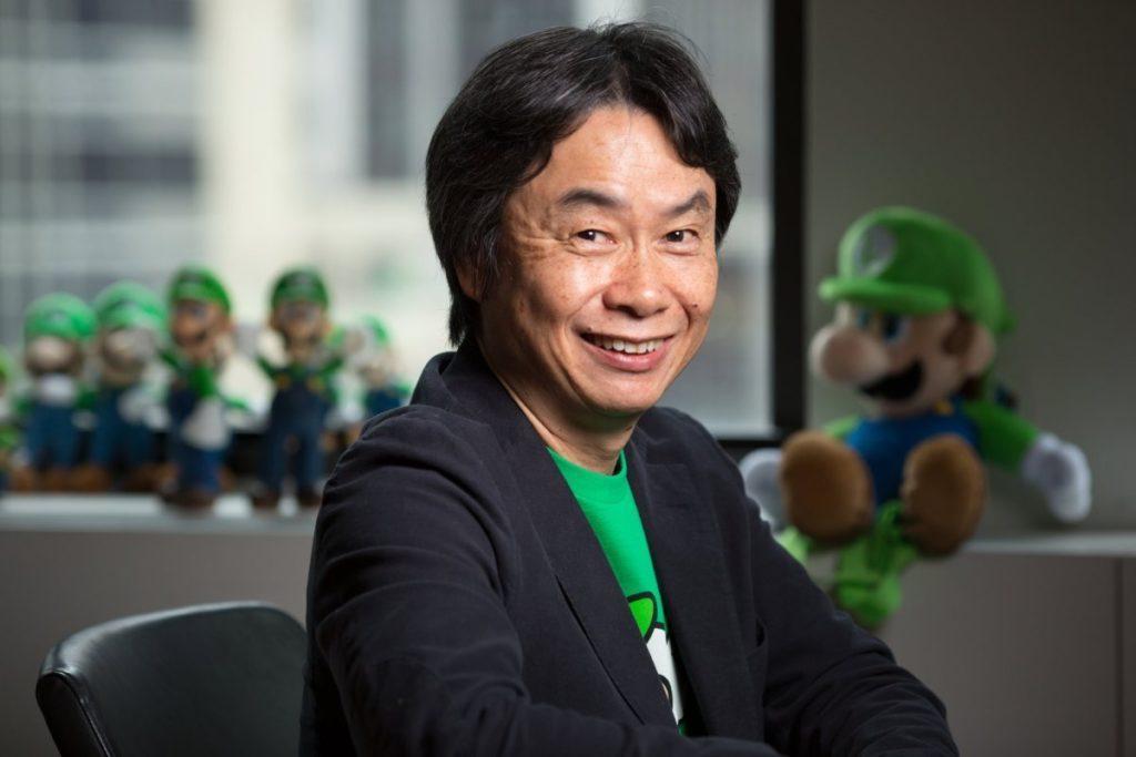 Shigeru miyamoto MARIO Nintendo