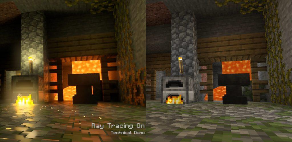 Xbox Series X Minecraft Raytracing