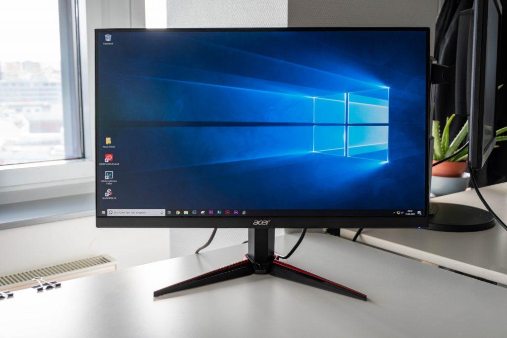Acer Nitro VG240YP – Günstiger 144Hz-Gamer mit IPS-Panel