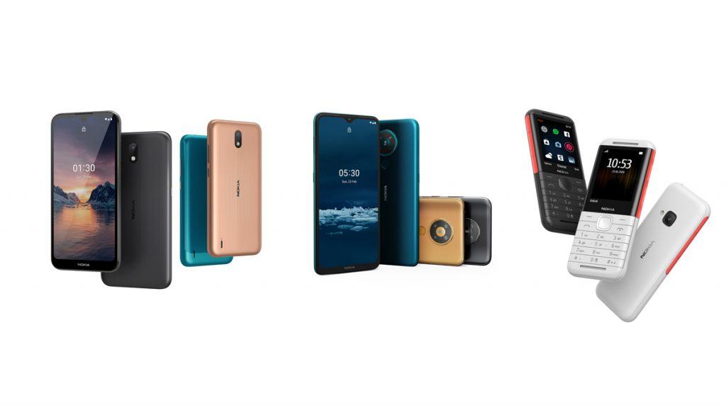 Nokia zeigt neue Smartphones und einen Klassiker