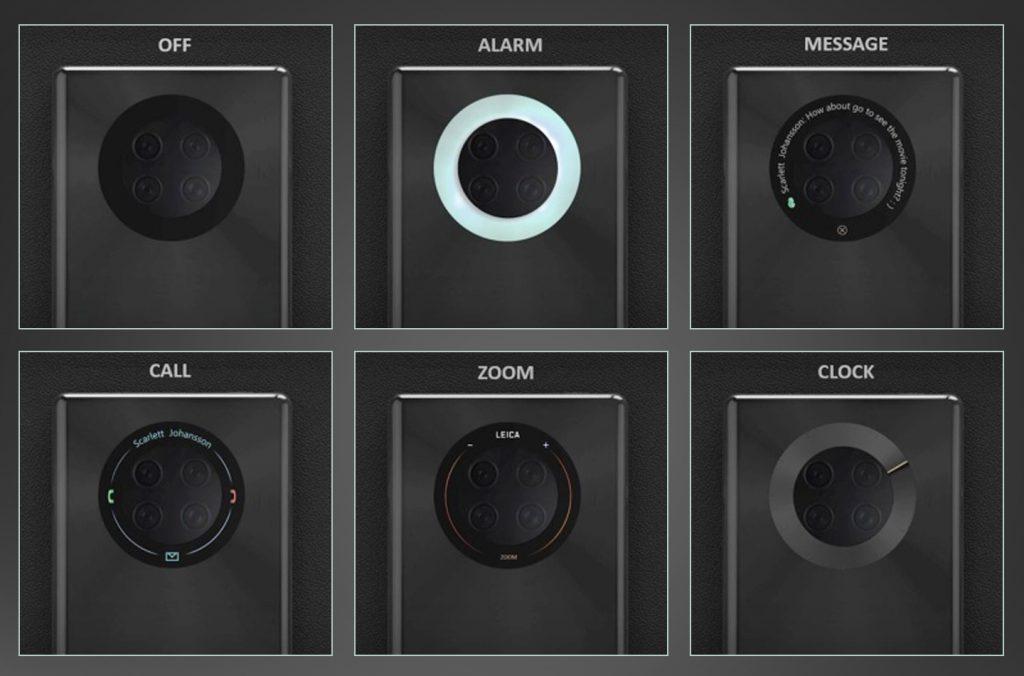 Huawei Patent: Ring auf der Rückseite könnte zum Display werden