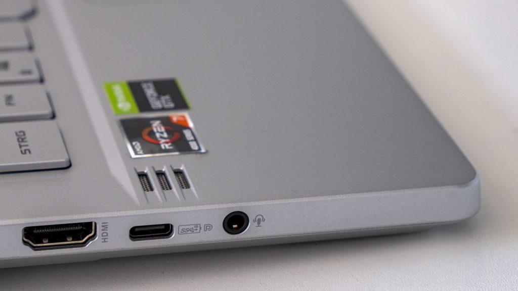ASUS ROG Zephyrus G14 Gaming Laptop Notebook AMD Ryzen 4000 Lautsprecher Klinkenanschluss