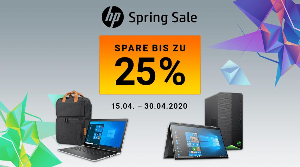 Spare bis zu 25% beim HP Spring Sale