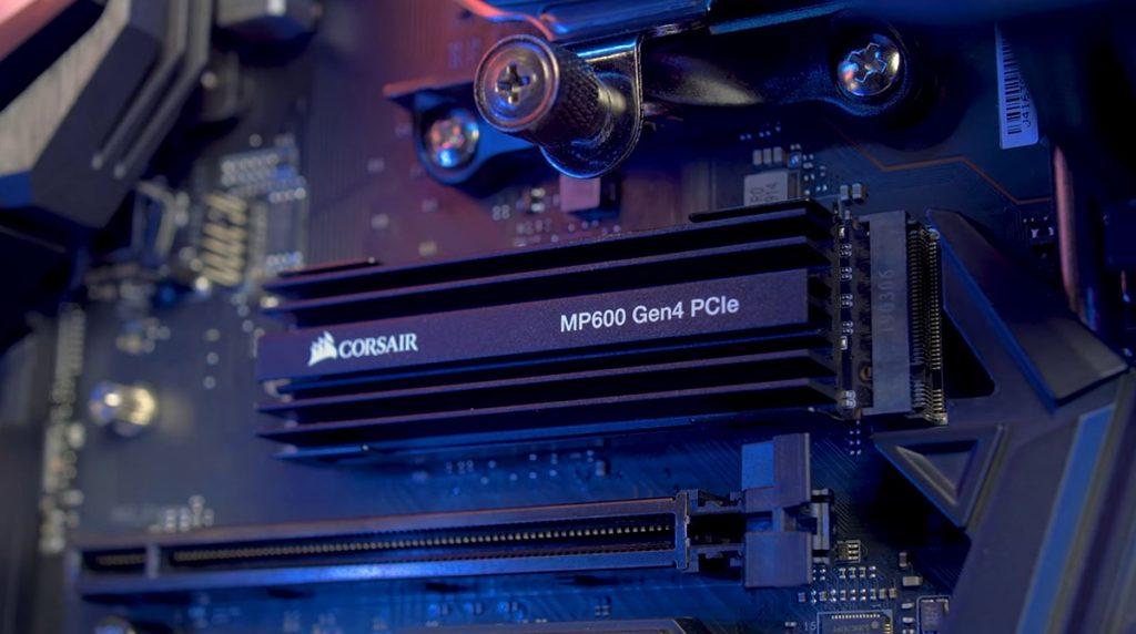 Corsair MP600 Force Series PCIe 4 0 nvme s2 SSD Aufmacher Blog