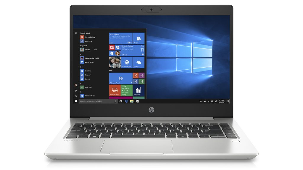 HP ProBook 445 G7 Notebook Laptop Business Frontal