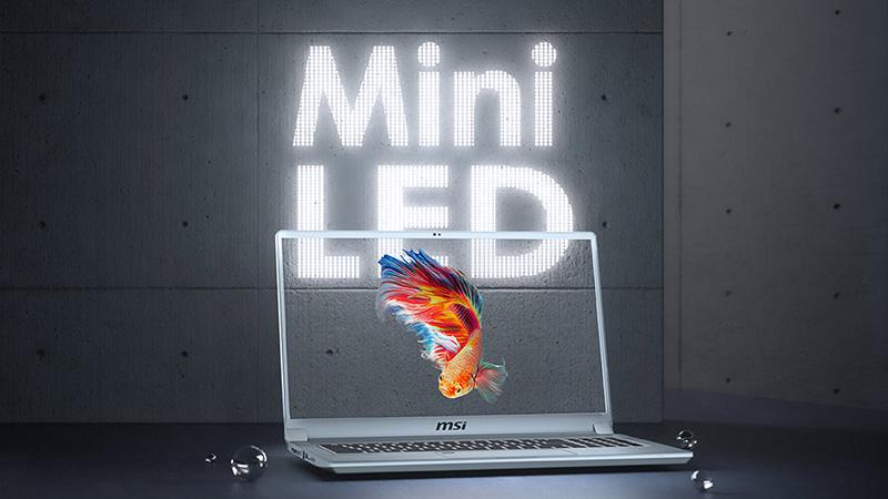 MSI bringt neue Laptops mit Mini-LED-Display und Nvidia RTX Super