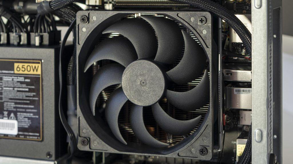 MSI Prestige P100 Creator Gaming PC Close Up CPU Kühler