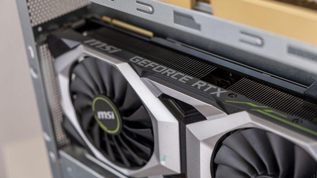 MSI Prestige P100 Creator Gaming PC Geforce Detail GPU Nvidia RTX 2080 Ti