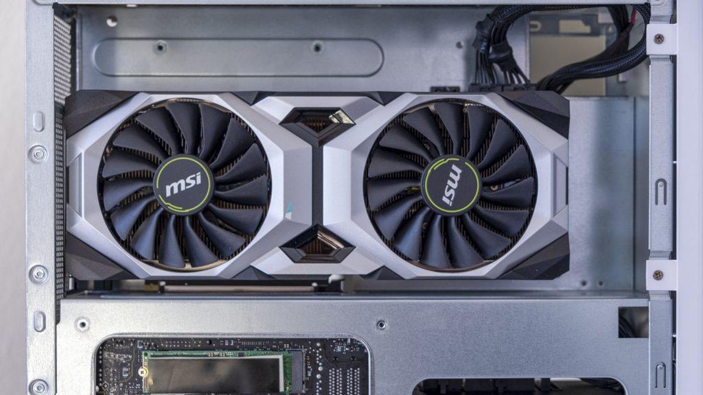 MSI Prestige P100 Creator Gaming PC Totale GPU Nvidia RTX 2080 Ti