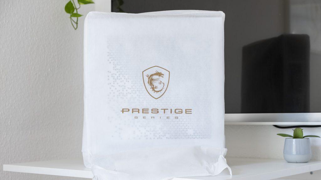 MSI Prestige P100 Creator Gaming PC Verpackung