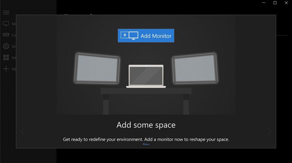 Microsoft Mirage / HoloScreens: Virtuelle Monitore für die Hosentasche