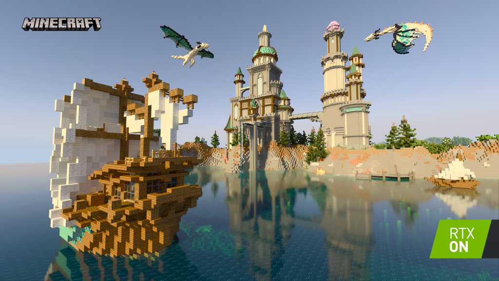 Minecraft Nvidia RTX Ray Tracing Beta 1