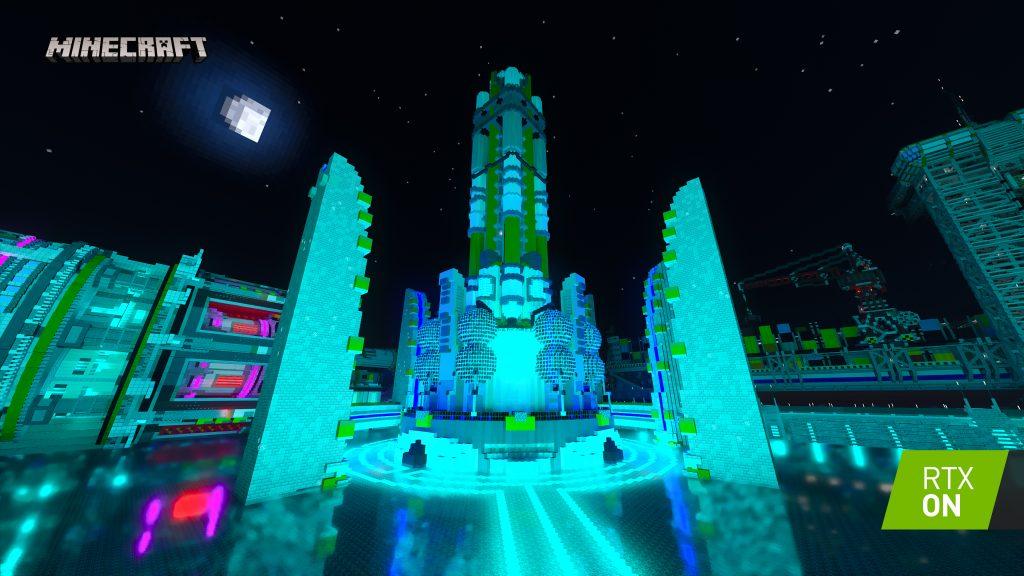 Minecraft Nvidia RTX Beta 2