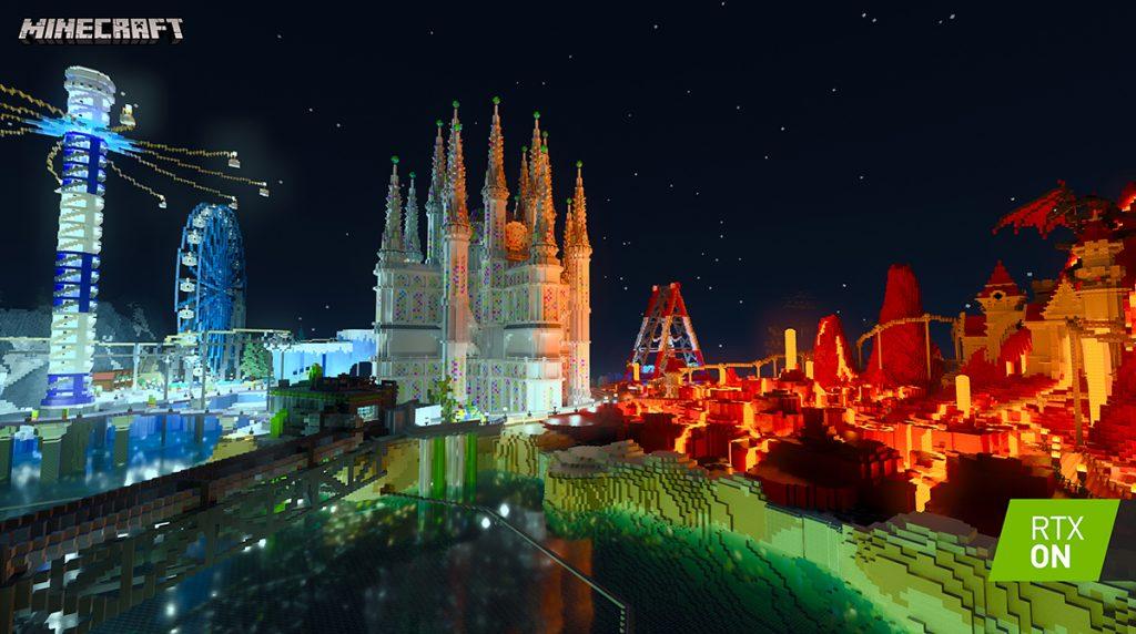 Minecraft mit Nvidia RTX – Beta mit Raytracing startet