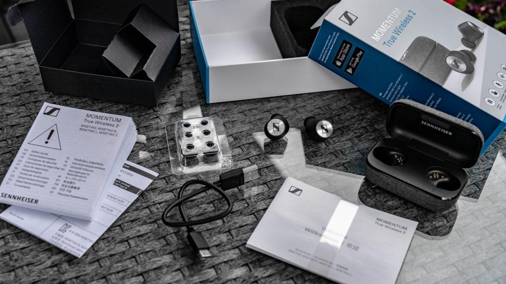 Sennheiser Momentum True Wireless 2 Lieferumfang