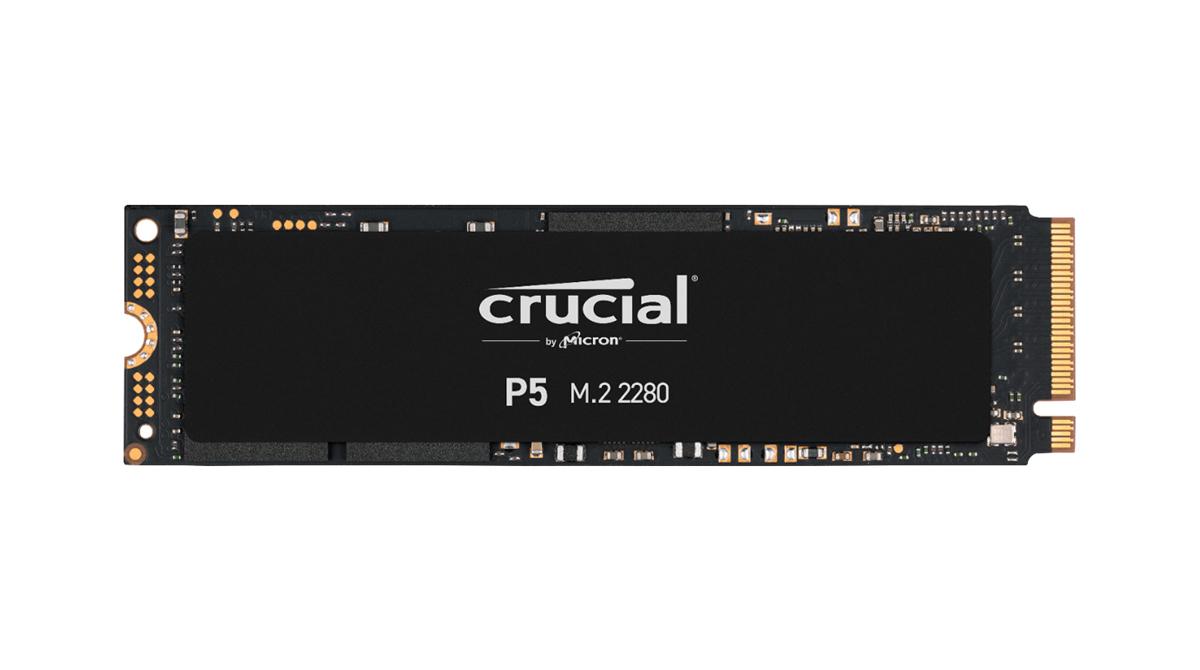 Crucial P5 SSD: Neue Highspeed SSD vorgestellt.