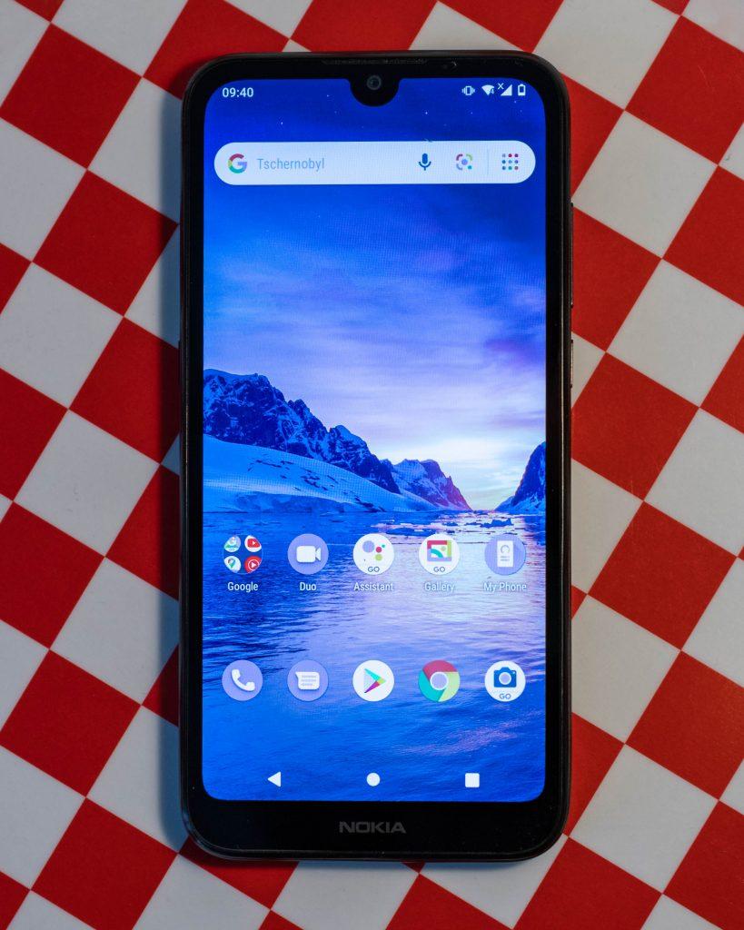 nokia 1.3 einsteiger-smartphone für um die 100 euro im test