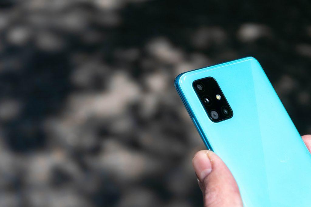 Samsung Galaxy A51 Smartphone im Test