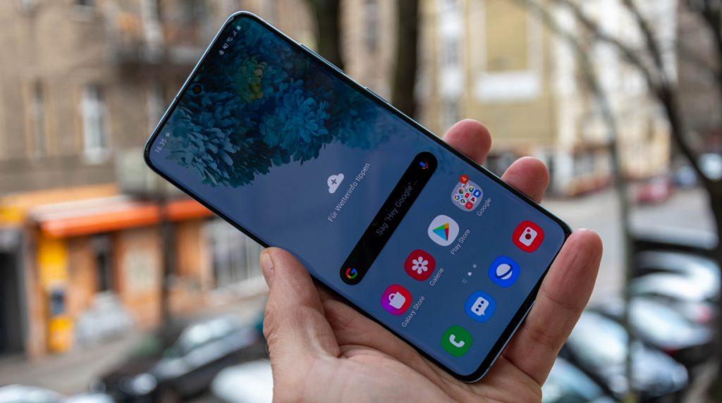 Samsung Galaxy S20 im Test: Oberklasse-Smartphone mit leichten Schwächen