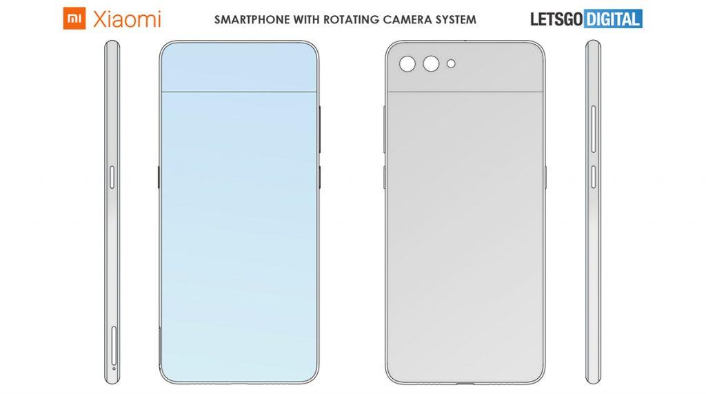 Xiaomi mit Patent für drehbare Kamera