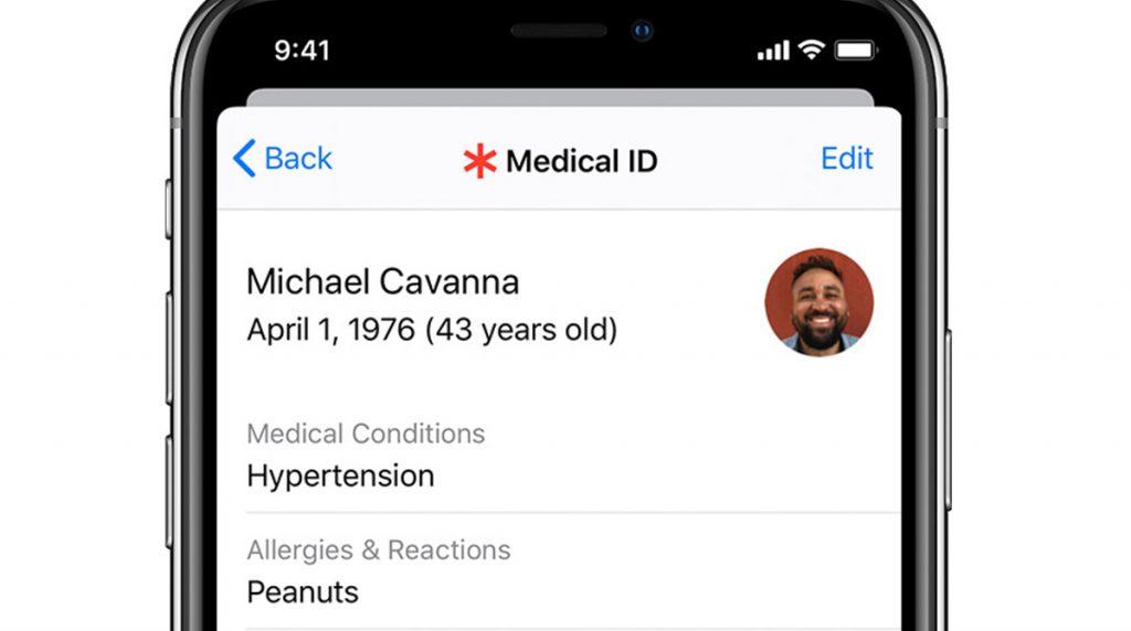 Apple: iOS 13.5 kann die Medical ID automatisch übertragen