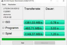 Razer Blade Stealth 13 AS SSD Kopieren