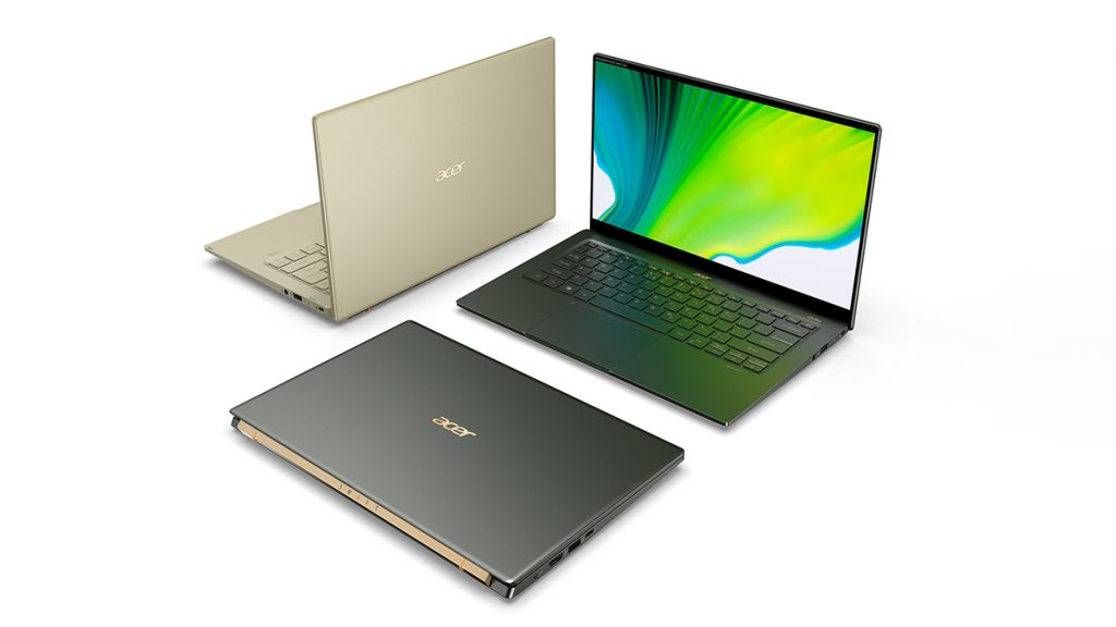 Acer-Neuheiten: Acer Swift 5, Ryzen 4000 im Nitro 5 und Creator-Geräte