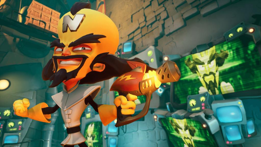 Crash Bandicoot 4 PlayStation Xbox Gaming Screenshot Neo Cortex