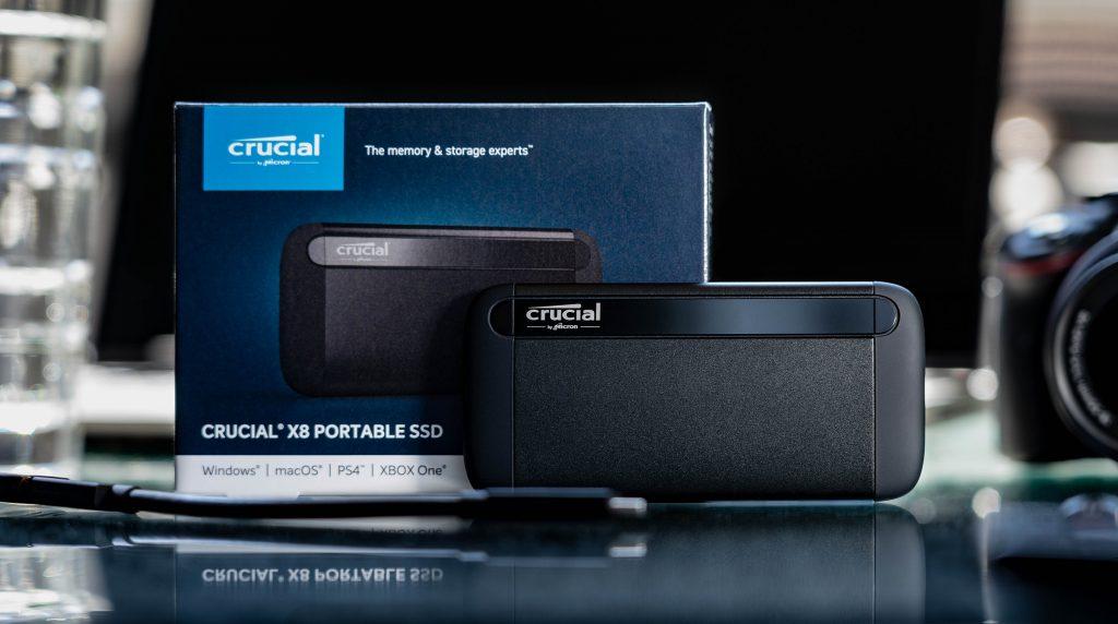 Crucial X8 Portable im Test: Schnelle SSD mit Flaschenhals
