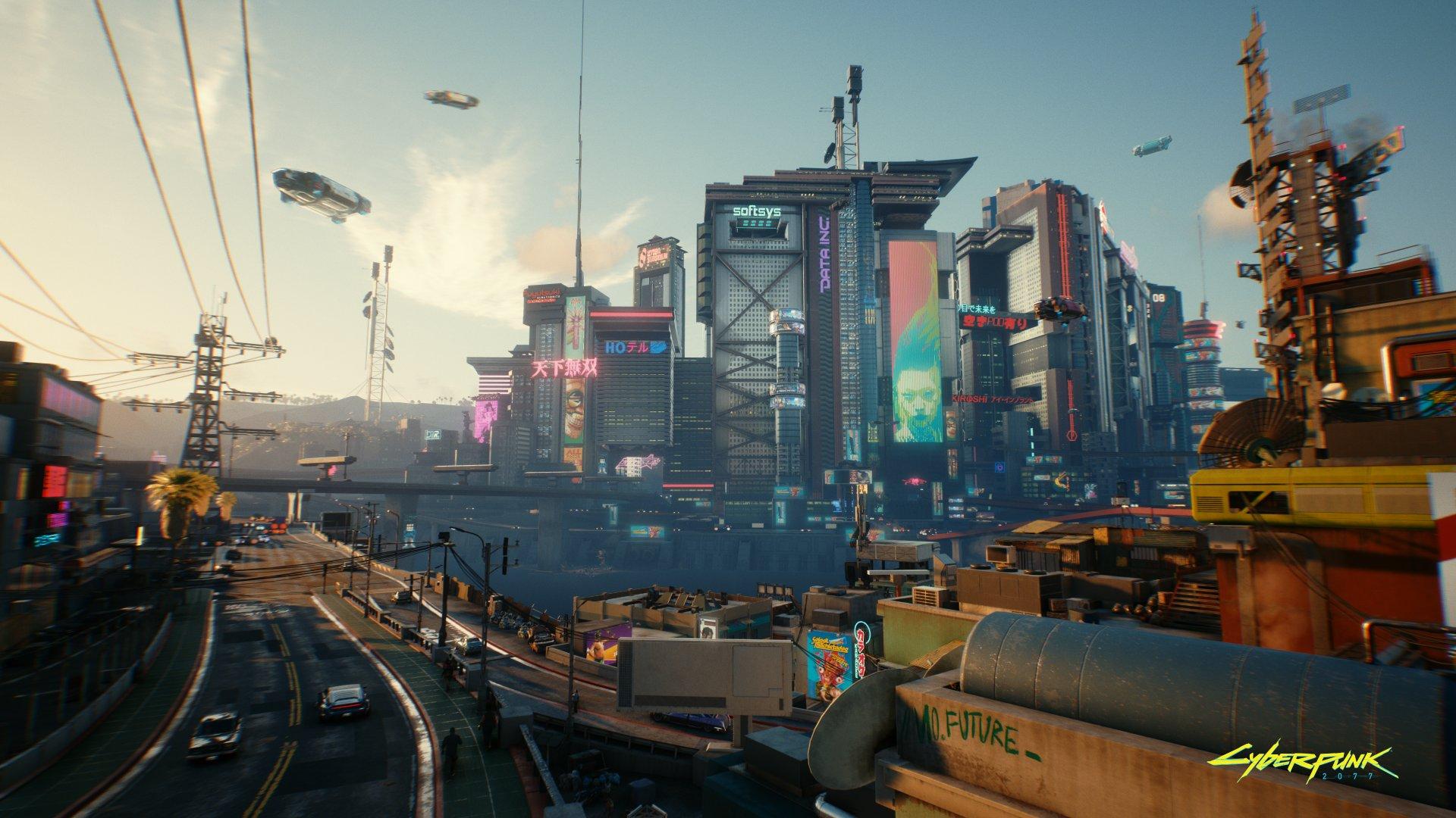 Cyberpunk2077 City