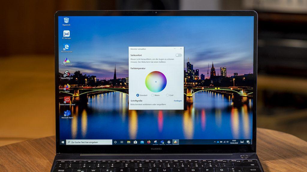 Huawei MateBook 13 2020 Bildschirm