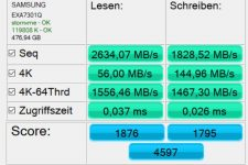 Huawei MateBook 13 AS SSD 1