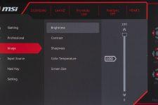 MSI Optix G271 Gaming Monitor Menü OSD 3