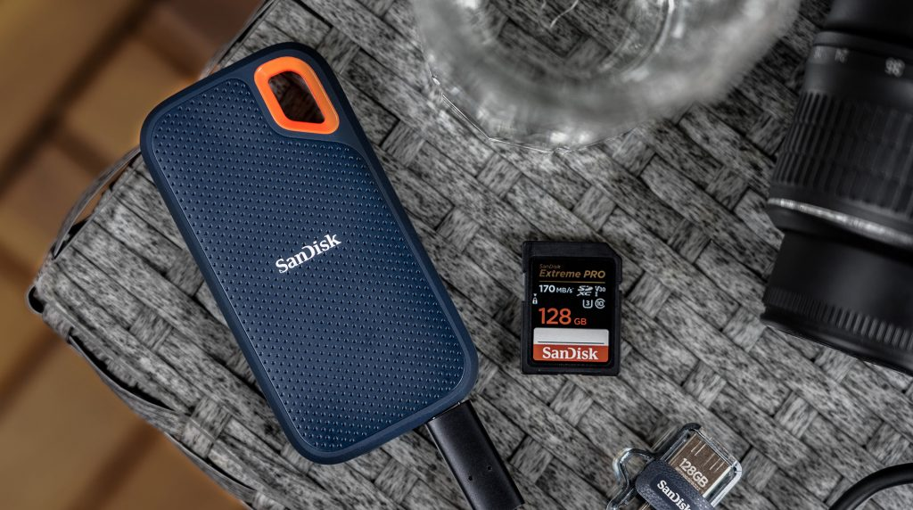 SanDisk Extreme Portable SSD im Test: Die optimale Outdoor- und Reise-SSD