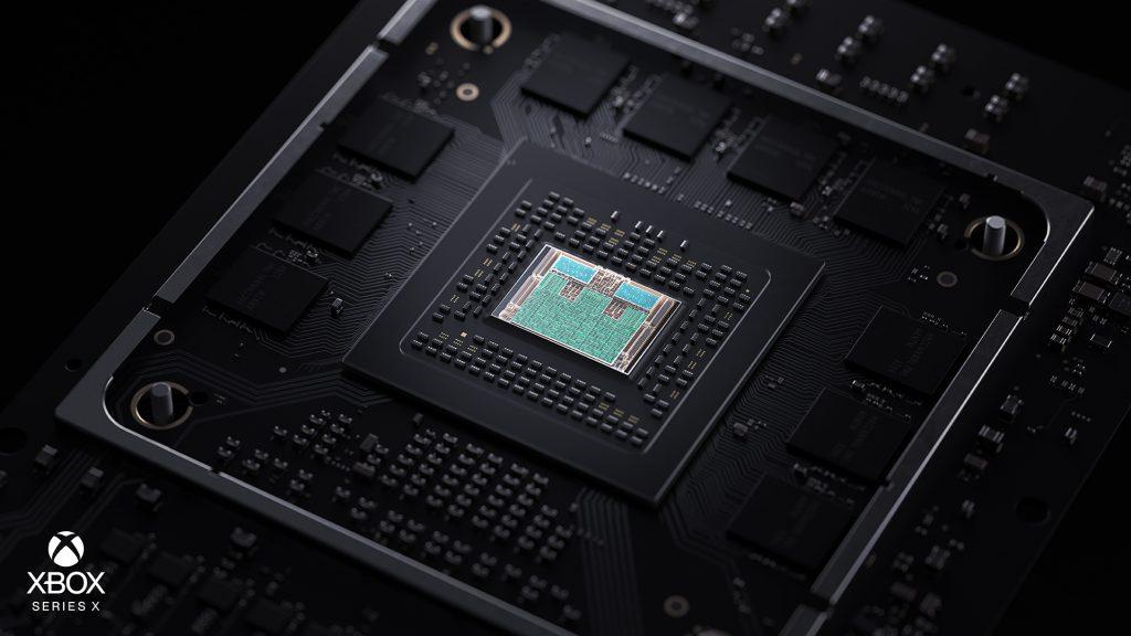 Xbox Series X Tech SoC Closeup