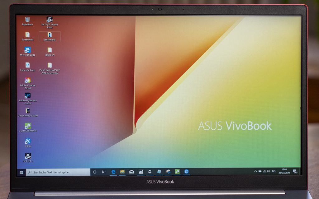 ASUS VivoBook S14 S433FL Display Frontal