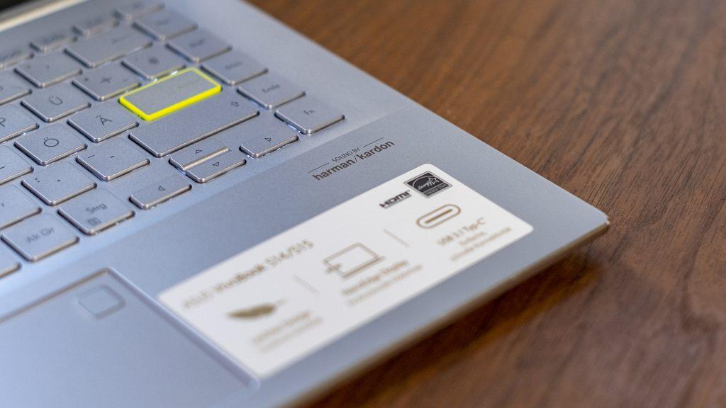 ASUS VivoBook S14 S433FL Harman Kardon Logo
