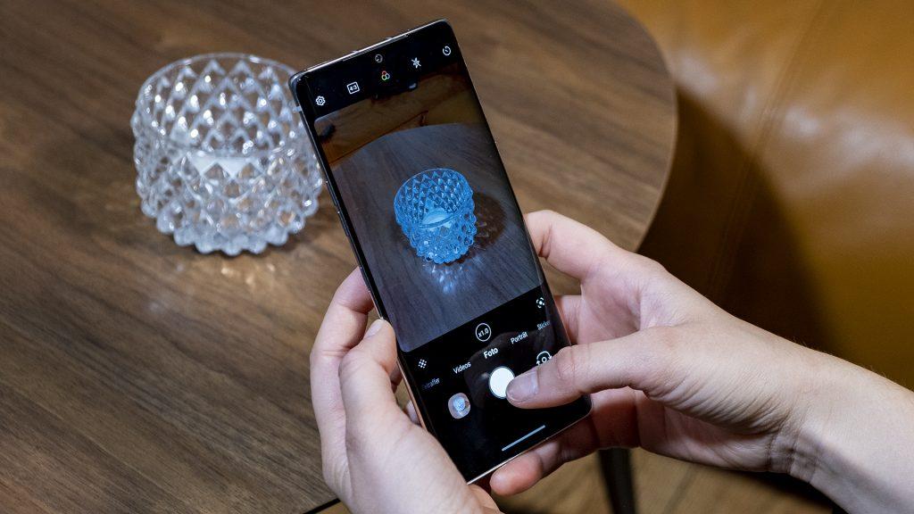 LG Velvet Smartphone Kamera Foto