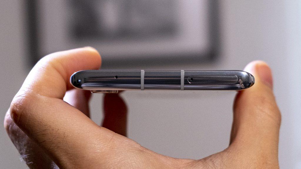 LG Velvet Smartphone Oberseite