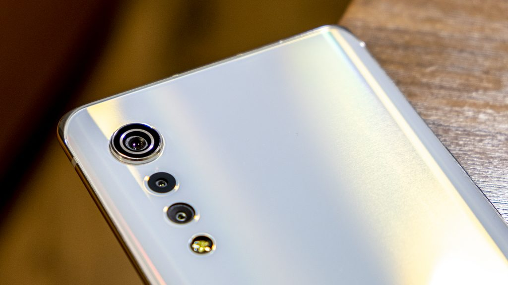 LG Velvet Smartphone Rückseite Kameras